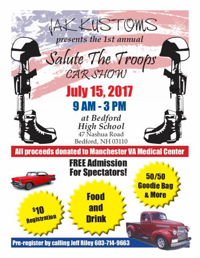 JAK Kustoms 1st Annual Salute the Troops Car Show ...