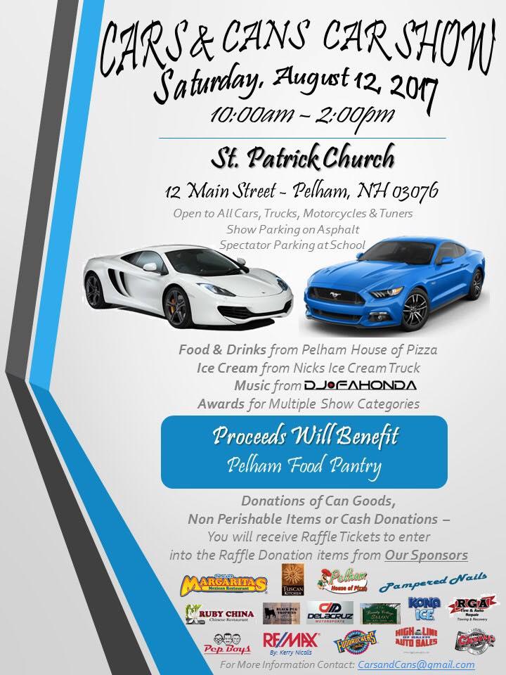 NH Pelham Cars And Cans Car Show NewEnglandAutoShowscom - Car show award categories