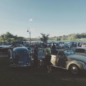 ME - Gardner - Classic Car Cruise In @ Gardner Waterfront Park | Gardiner | Maine | United States