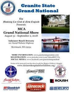 NH - Merrimack - Granite State Mustang Grand National @ Anheuser Busch Brewery Merrimack NH | Merrimack | New Hampshire | United States
