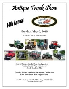 MA - Deerfield - 14th Annual Antique Truck Show @ Yankee Candle Corporate Headquarters | Deerfield | Massachusetts | United States