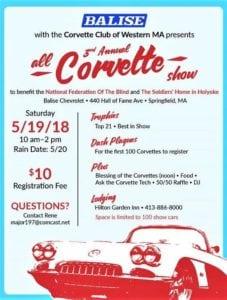 MA - Springfield - 3rd Annual All Corvette Show @ Balise Chevrolet | Springfield | Massachusetts | United States
