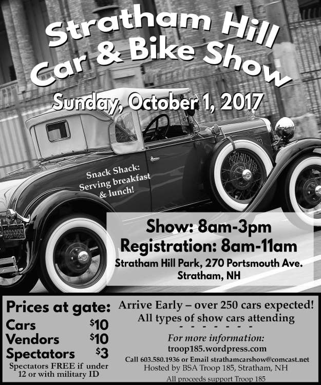 Hill Car And Bike Show For BSA Troop 185