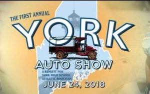 ME - York - 1st Annual York Auto Show - Athletic Boosters Fund Raiser @ York High School | York | Maine | United States