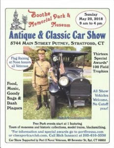 CT - Stratford - Boothe Memorial Park & Museum Antique & Classic Car Show @ Stratford | Connecticut | United States