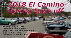 MA - North Andover - El Camino Spring Dust-Off @ Jimmy's Famous Pizza | North Andover | Massachusetts | United States