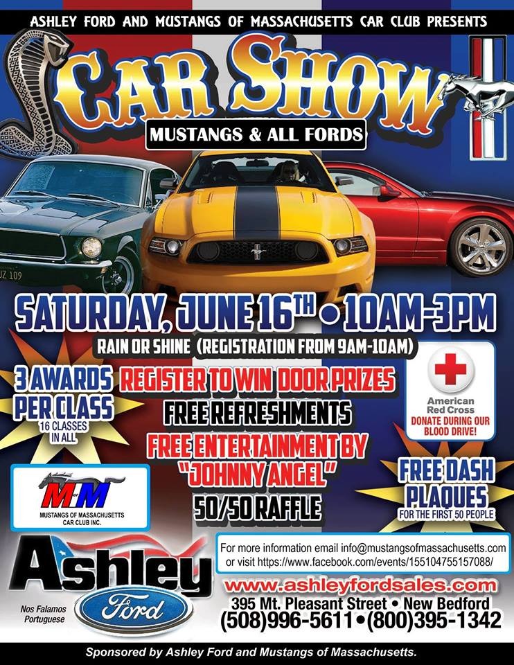 MA - New Bedford - The Ashley Ford Car Show | NewEnglandAutoShows.com