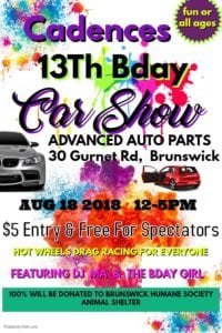 ME - Brunswick - Cadence's 13th Birthday Car Show & Meet @ Advanced Auto Parts | Brunswick | Maine | United States