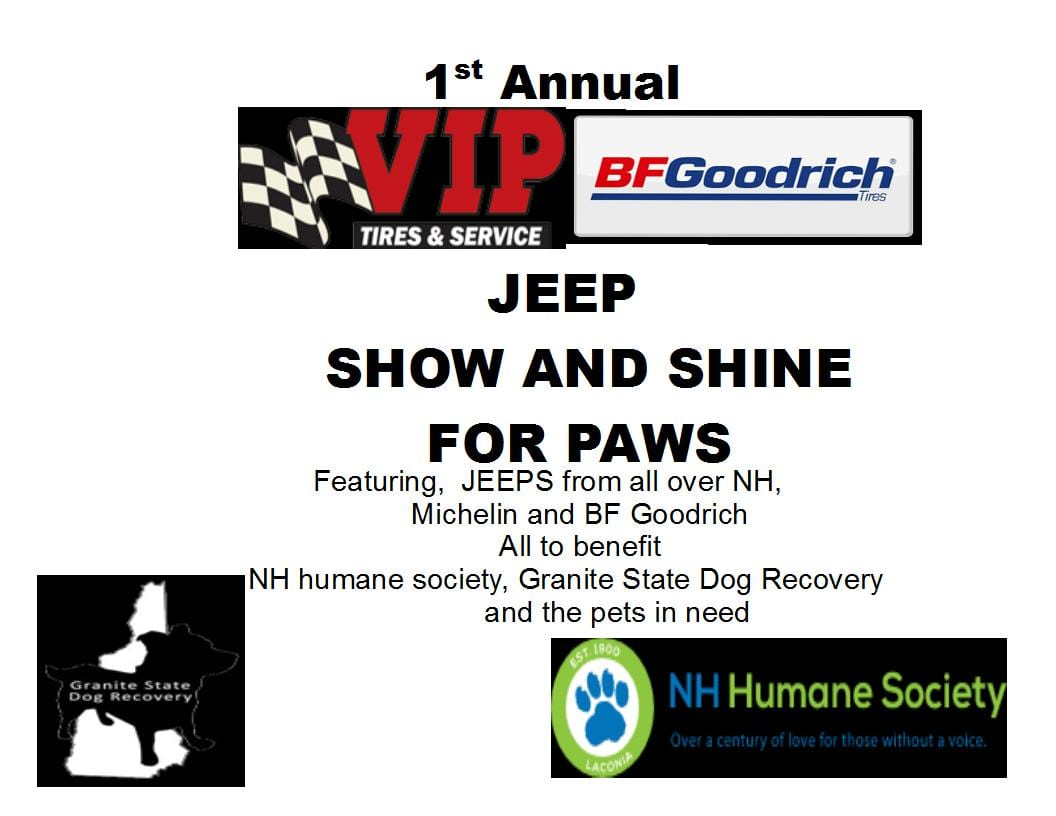 NH - Woodsville - VIP Jeep Show and Shine @ VIP Tires & Service (Woodsville, NH) | Haverhill | New Hampshire | United States