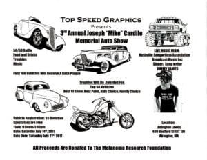 "MA - Abington - Annual Joseph ""Mike"" Cardile Memorial Auto Show @ Lowe's Parking Lot 