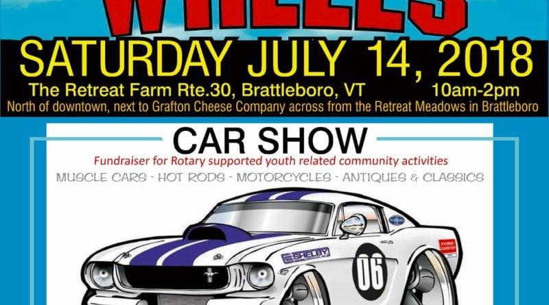 VT Brattleborro On Wheels Car Show NewEnglandAutoShowscom - When is the next car show near me