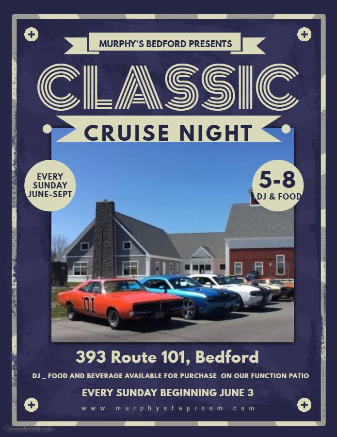 NH Bedford Classic Cruise Night At Murphys - Nh car show bedford