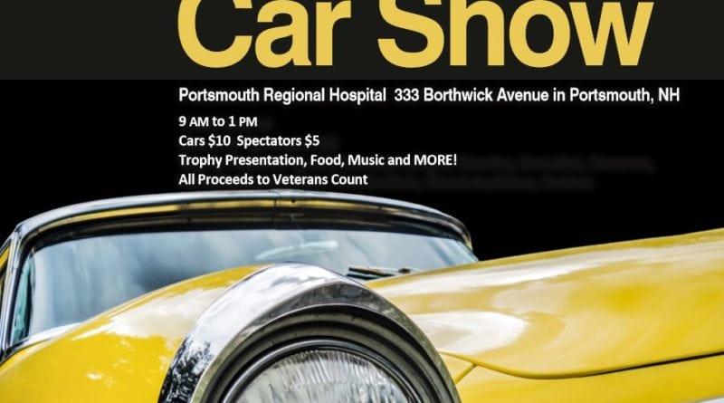 NH Portsmouth Regional Hospital Car Show NewEnglandAutoShowscom - The count car show