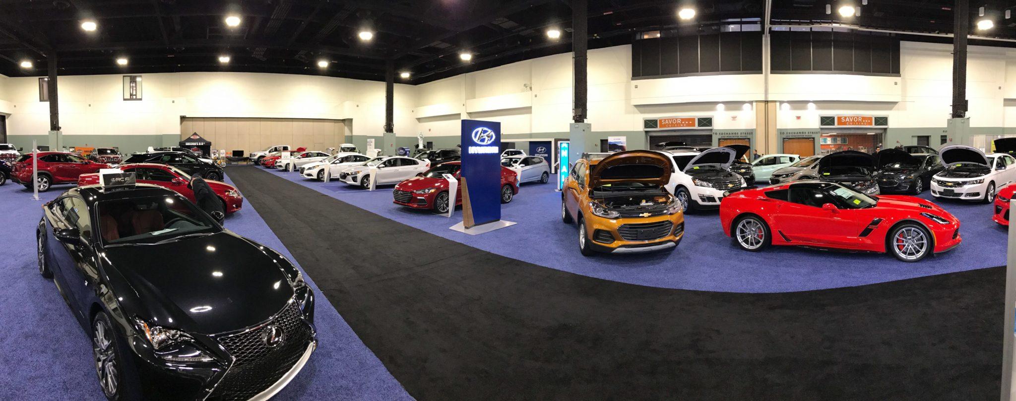 MA Worcester Auto Show NewEnglandAutoShowscom - Dcu center car show