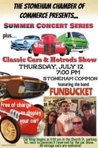 MA - Stoneham - Summer Concert Series and Classic Cars & Hotrods Show @ Stoneham Common | Stoneham | Massachusetts | United States