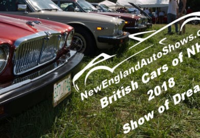 British Cars of NH 2018 Show of Dreams Was HOT!