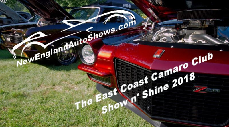 East Coast Camaro Club's Show n' Shine – Another Hot Show for 2018