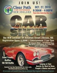 MA - Devans - Clear Path for Veterans Classic Car Show @ Devens | Massachusetts | United States