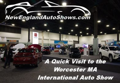 A quick Visit to the Worcester MA International Auto Show