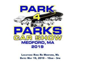 MA - Medford - Park 4 Parks Car Show @ Ring Rd   Medford   Massachusetts   United States