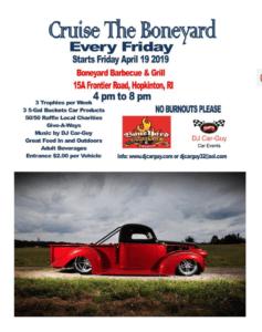 RI - Hopkinton - Cruise the Boneyard @ Boneyard Barbecue and Grill   Hopkinton   Rhode Island   United States