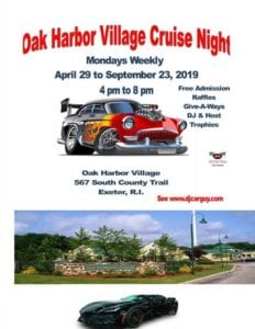 RI - Exeter - Oak Harbor Village Cruise Night @ Oak Harbor Village | Exeter | Rhode Island | United States