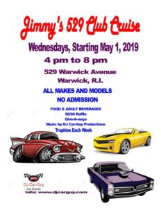 RI - Warwick - Jimmy's 529 Club Cruise @ Warwick | Rhode Island | United States
