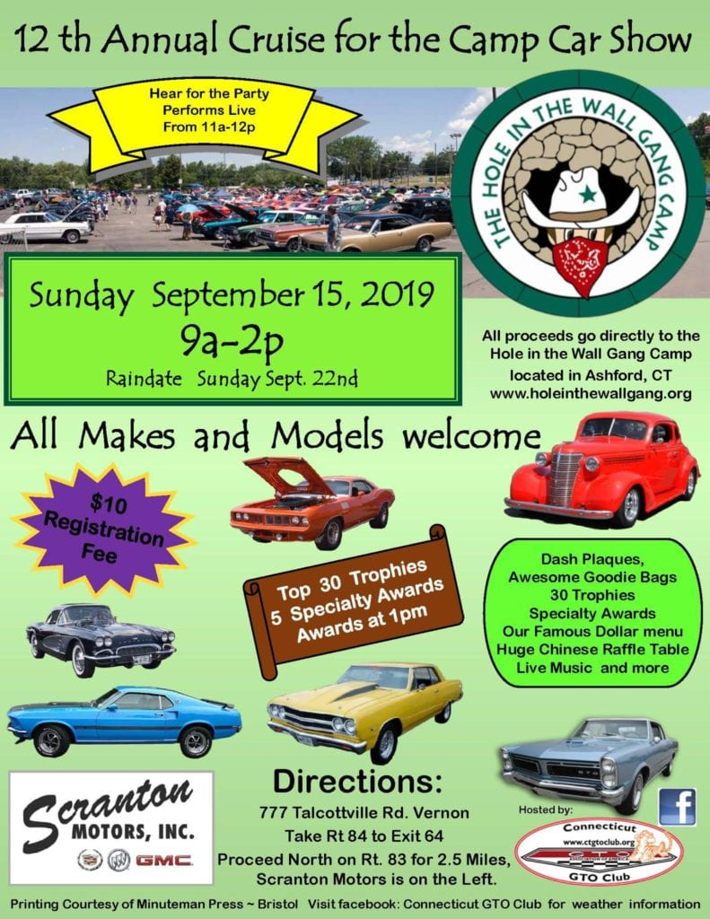 CT - Vernon - Annual Cruise for the Camp Car Show