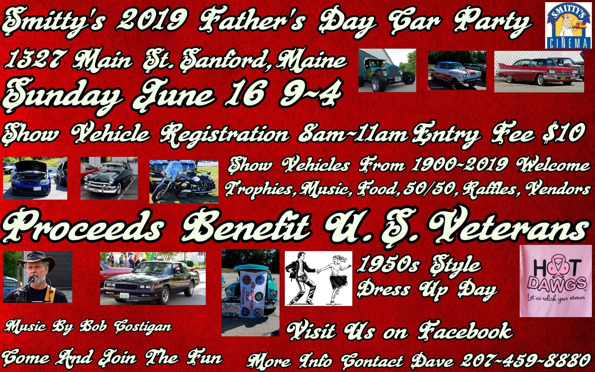 ME - Sanford - Smittys Fathers Day Car Party | NewEnglandAutoShows com
