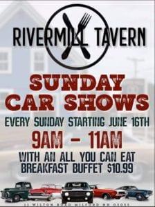 NH - Milford - Sunday Car Shows at Rivermill Tavern