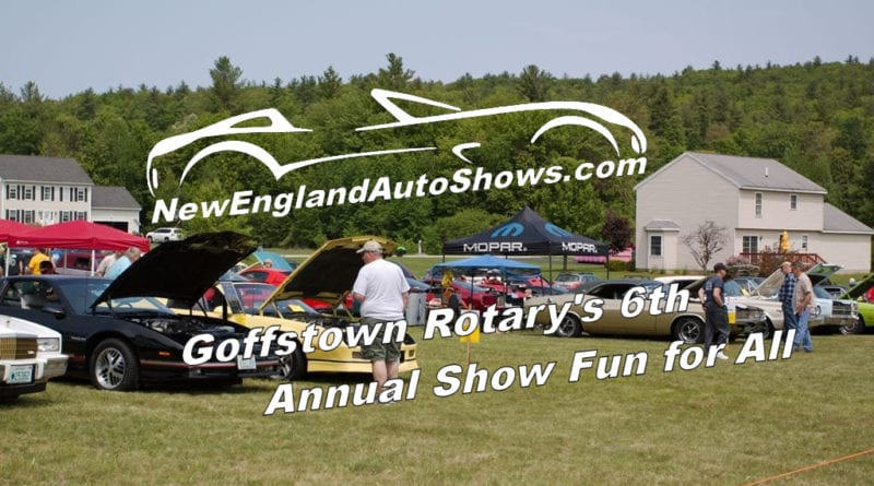 Goffstown Rotary's 6th Annual Show Fun for All