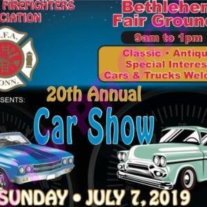CT - Bethlehem - Annual Bethlehem Firefighter's Association Car Show @ Bethlehem | Connecticut | United States