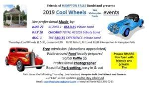 NH - Hampton Falls - Cool Wheels @ Hampton Falls Bandstand | Hampton Falls | New Hampshire | United States