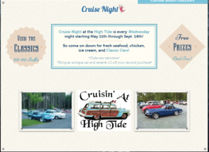 NH - Henniker - Cruise Night at the High Tide @ High Tide Take Out | Hillsboro | New Hampshire | United States
