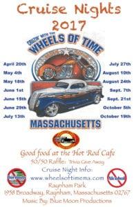 Cruizin' With the Wheels of Time @ Raynham Park | Raynham | Massachusetts | United States