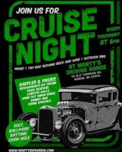 NH - Mason - Marty's Driving Range Cruise Night @ Marty's Driving Range | Mason | New Hampshire | United States