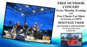 MA - Lowell - Heritage Farm Ice Cream Classic Car Night & Free Concert Series @ Heritage Farm | Lowell | Massachusetts | United States