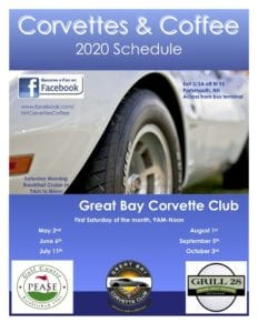 NH - Portsmouth - Corvettes & Coffee @ Grill 28 Pease Golf Course | Portsmouth | New Hampshire | United States