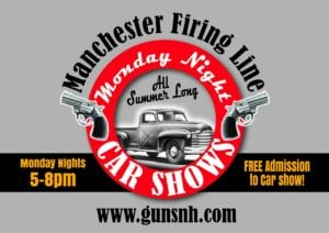 NH - Manchester - Monday Night Car Shows at Manchester Firing Line @ Manchester Firing Line Range, LLC | Manchester | New Hampshire | United States
