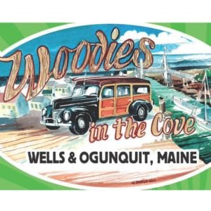 ME - Wells & Ogunquit - Woodies in the Cove @ Perkins Cove | Ogunquit | Maine | United States