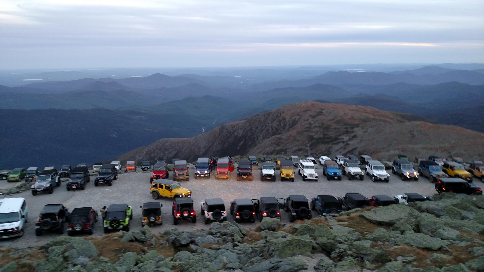 Nh Ossipee Annual White Mountains Jeep Invasion
