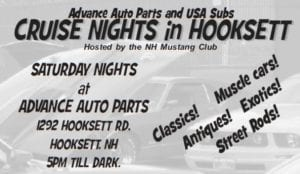 NH - Hooksett - NHMC Cruise Nights @ Advance Auto Parts | Hooksett | New Hampshire | United States