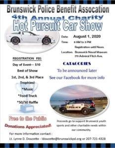 ME - Brunswick - Annual Hot Pursuit Charity Car Show @ Brunswick Naval Museum | Brunswick | Maine | United States
