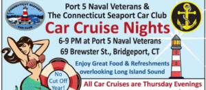 CT - Bridgeport - Summer Cruise Nights on the Harbor @ Port 5 Naval Veterans Hall | Bridgeport | Connecticut | United States