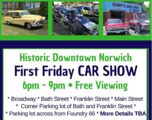 CT - Norwich - First Friday Car Show @ Downtown Norwich | Norwich | Connecticut | United States