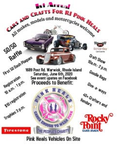 RI - Warwick - Annual Cars and Crafts For RI Pink Heals @ Rocky Point Clam Shack | Warwick | Rhode Island | United States