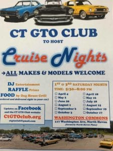CT - North Haven - CT GTO Club Cruise Nights @ North haven Plaza | North Haven | Connecticut | United States