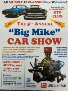 "CT - Wallingford - ""Big Mike"" Car Show @ Masonicare 