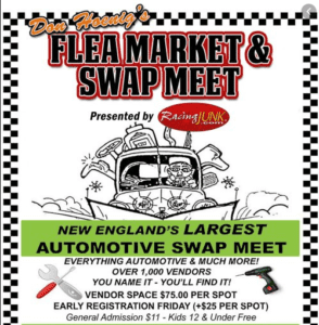 CT - Thompson - Don Hoenig's Original Swap Meet & Flea Market @ Thompson Speedway | Thompson | Connecticut | United States