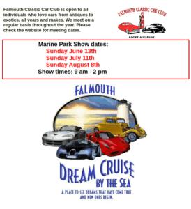 MA - Falmouth - Falmouth Classic Car Club Cruise @ Falmouth Marine Park | Falmouth | Massachusetts | United States